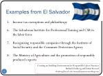 examples from el salvador1