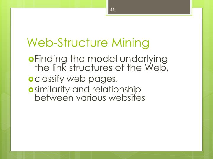 Web-Structure Mining