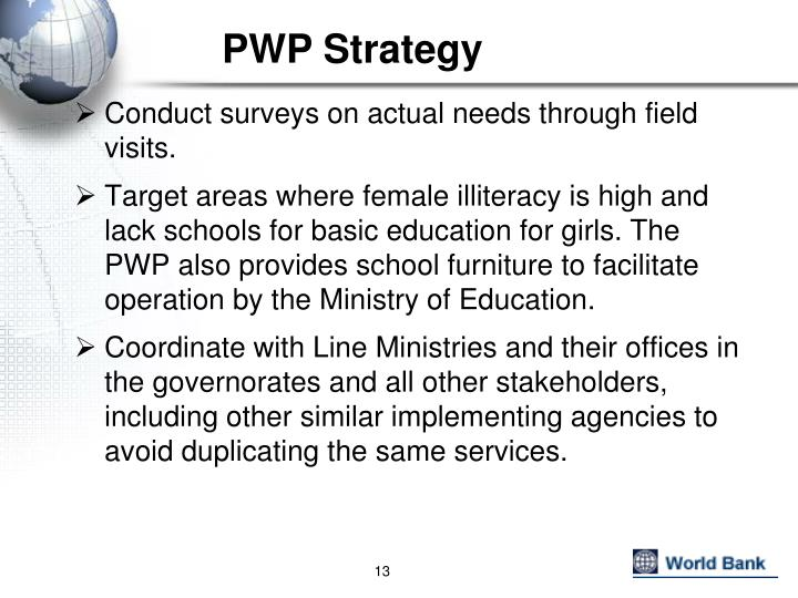 PWP Strategy