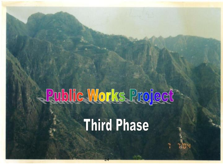 Public Works Project