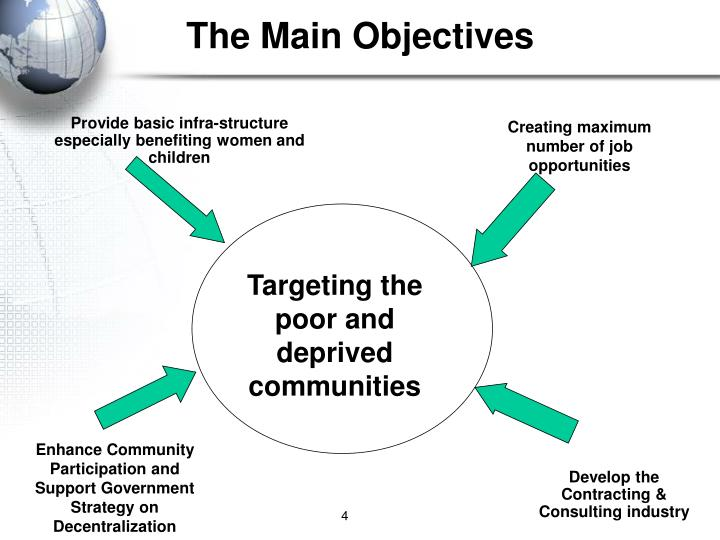 The Main Objectives