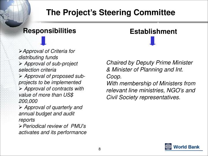 The Project's Steering Committee