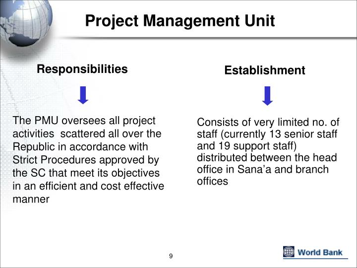 Project Management Unit