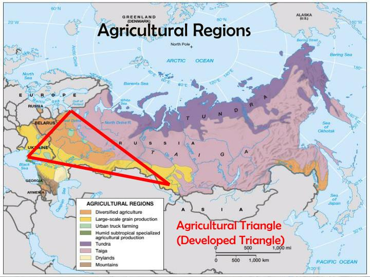 Agricultural Regions