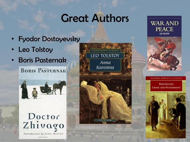 Great Authors