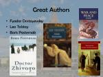 great authors
