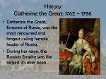 history catherine the great 1762 1796