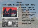 history nicholas ii the last czar 1894 19171