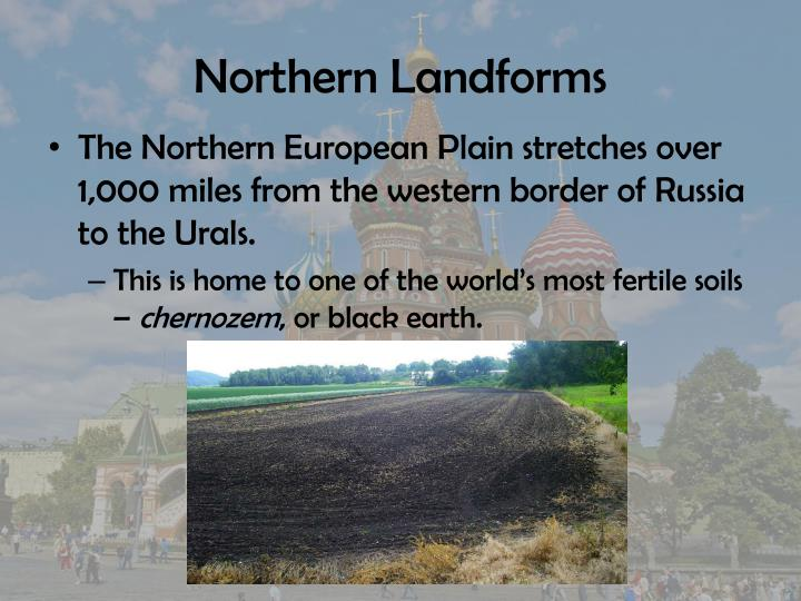 Northern Landforms