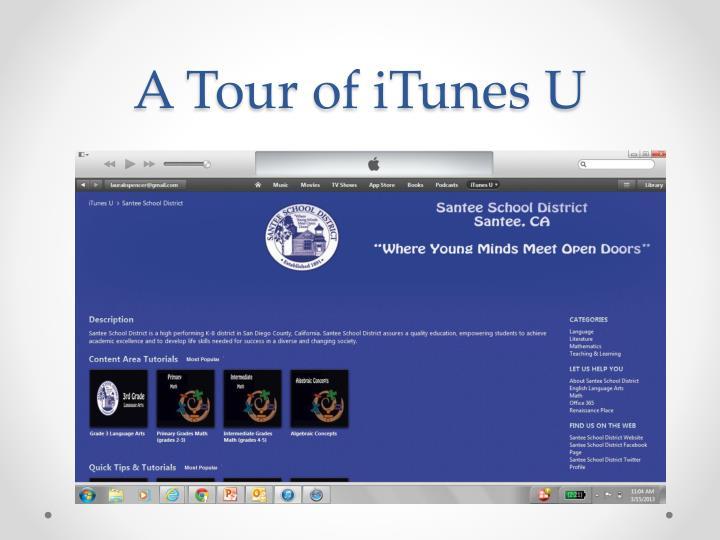 A Tour of iTunes U