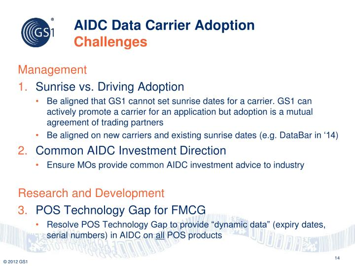 AIDC Data Carrier Adoption