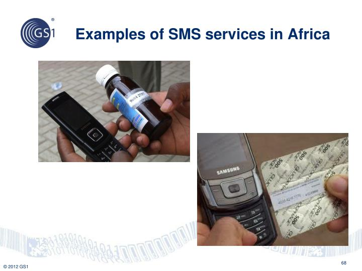 Examples of SMS services in Africa
