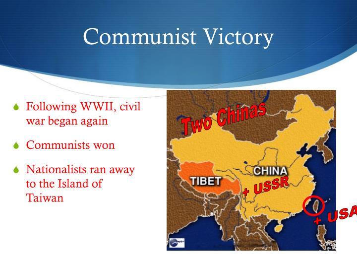 Communist Victory