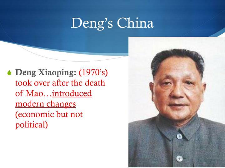 Deng's China