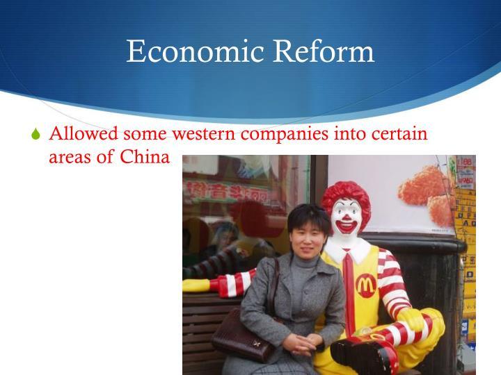 Economic Reform