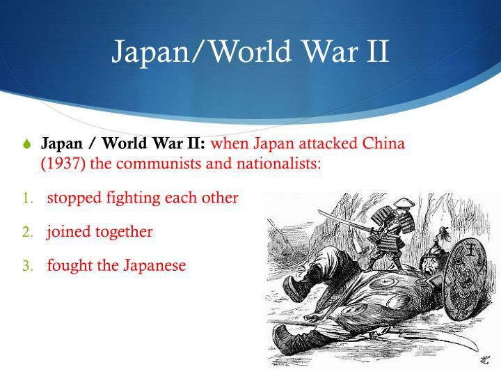 Japan/World War II