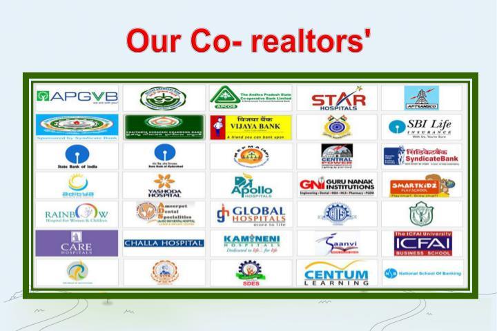 Our Co- realtors'
