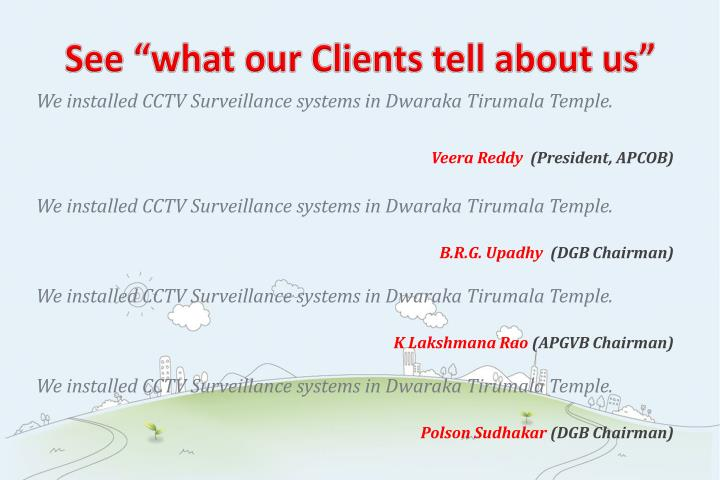 "See ""what our Clients tell about us"""