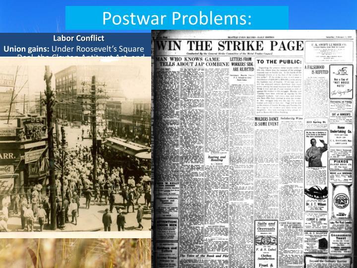 Postwar Problems: