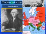 the war in europe