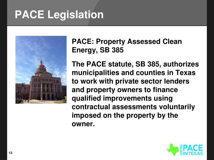 PACE Legislation