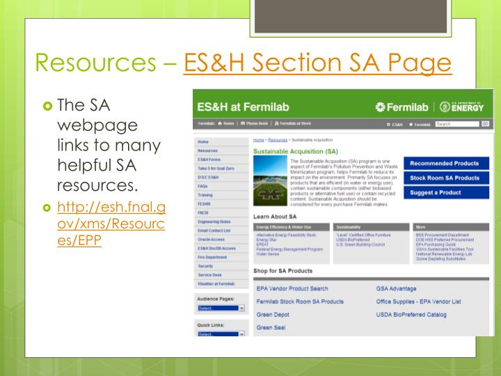 Resources –