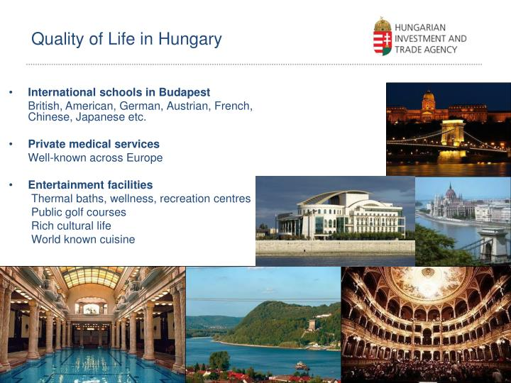 Quality of Life in Hungary