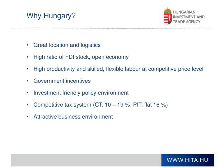 Why Hungary?