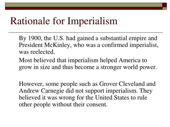 isolationism intervention and imperialism assignment essay Isolationism, intervention, and imperialism 1 the united states annexes hawaii in 1900 should be categorized as imperialism imperialism is a countries policy of.