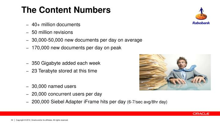 The Content Numbers