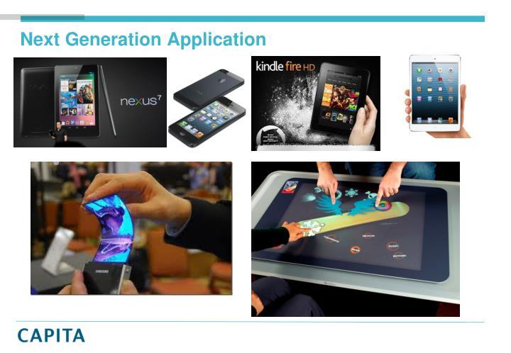 Next Generation Application
