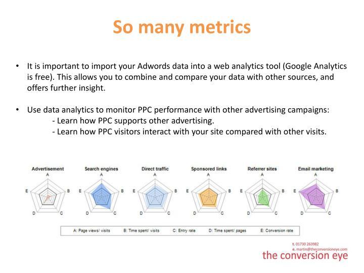 So many metrics