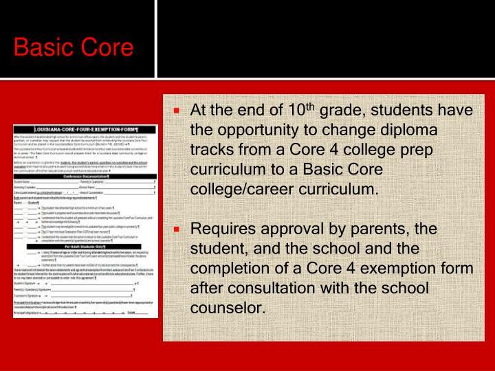 Basic Core