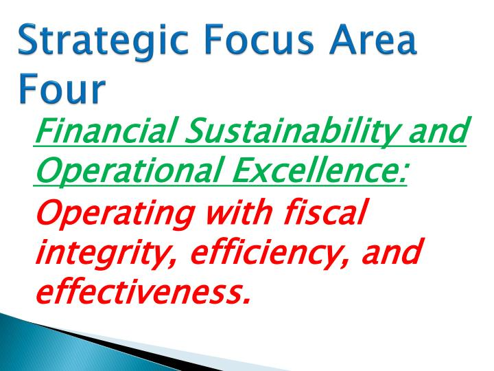 Strategic Focus Area Four