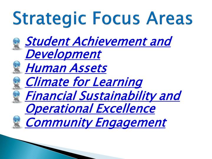 Strategic Focus Areas