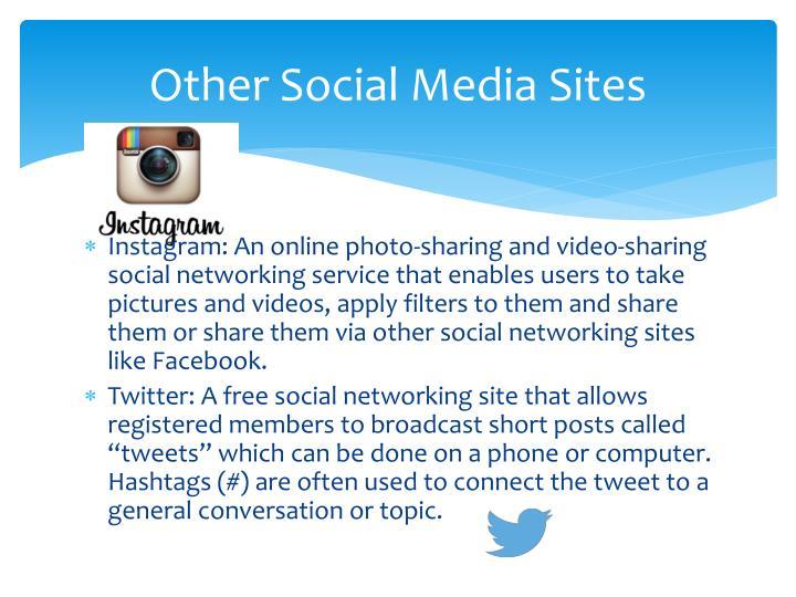 Other Social Media Sites