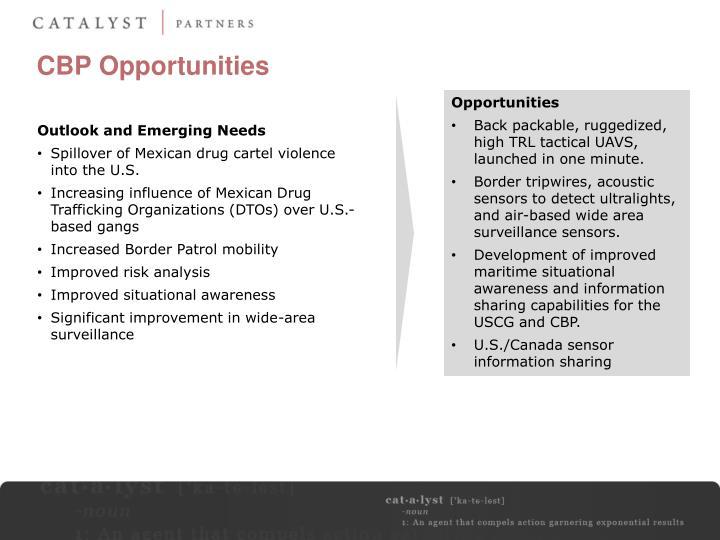 CBP Opportunities