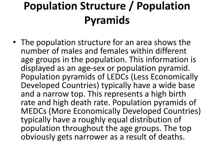 Population Structure / Population Pyramids