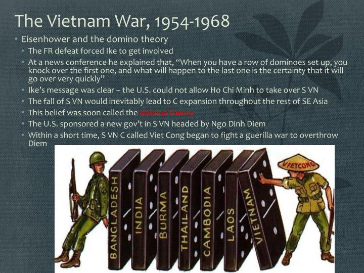The Vietnam War, 1954-1968