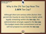 why is the 2 tax cap now the 1 66 tax cap2