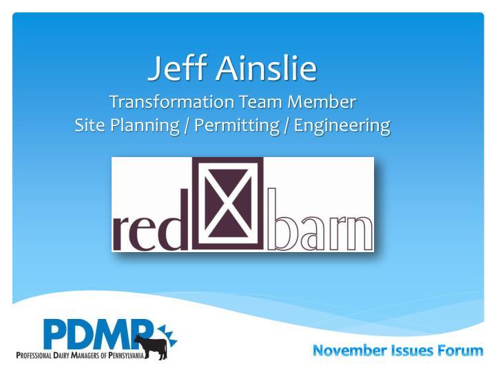 Jeff Ainslie