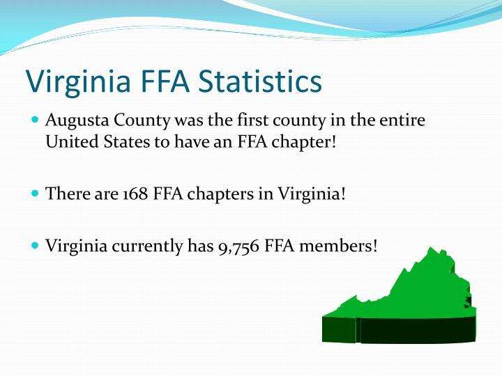 Virginia FFA Statistics