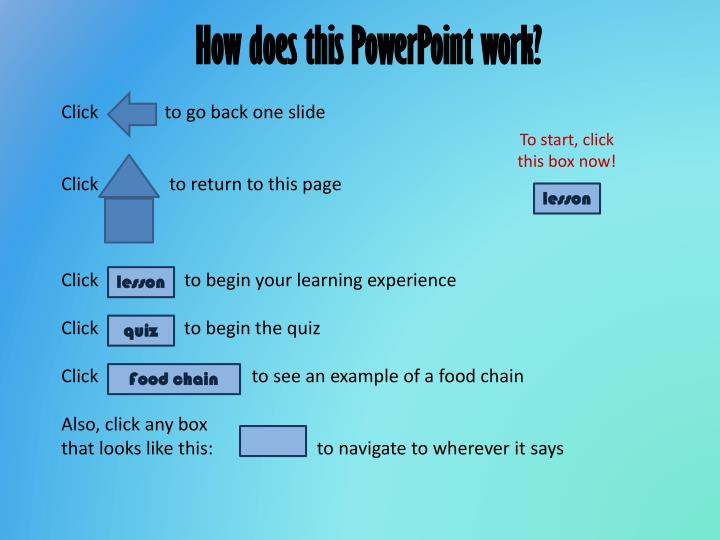 How does this PowerPoint work?
