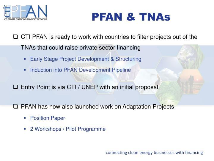 PFAN & TNAs