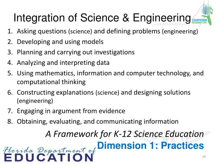 Integration of Science & Engineering