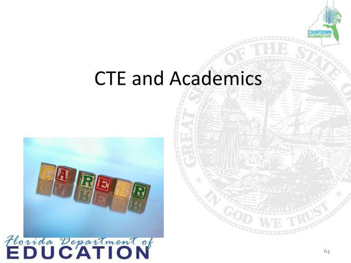 CTE and Academics