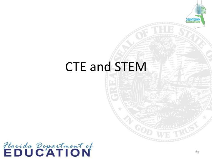 CTE and STEM