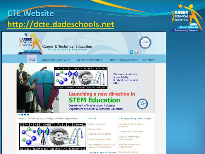 CTE Website