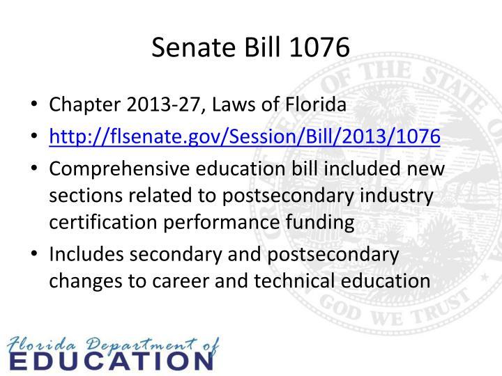 Senate Bill 1076
