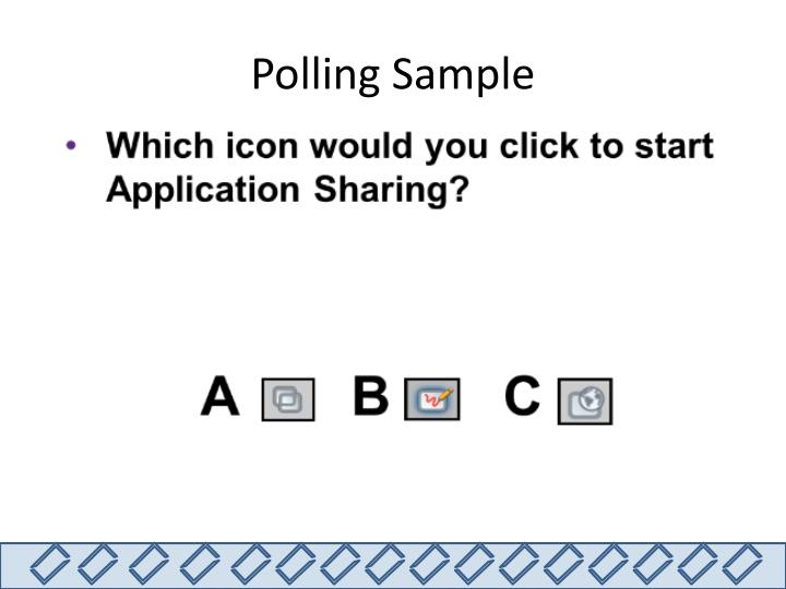 Polling Sample